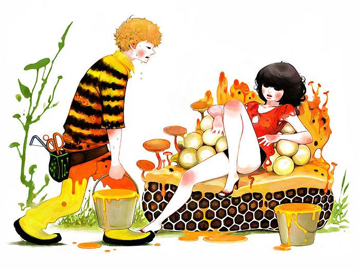 蜜を運ぶのはあなた